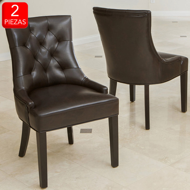 Noble House, Wynn, silla para comedor, 2 piezas | Costco México
