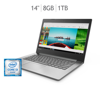"Lenovo IdeaPad 320 laptop 14"" Intel® Core™ i3-7100U"