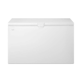 Congelador Whirlpool de 22', color blanco