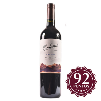 Vino Tinto Colomé Autentico Malbec 750ml