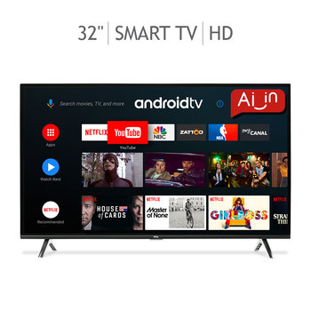 "TCL Pantalla 32"" Smart TV (Android TV) HD LED"