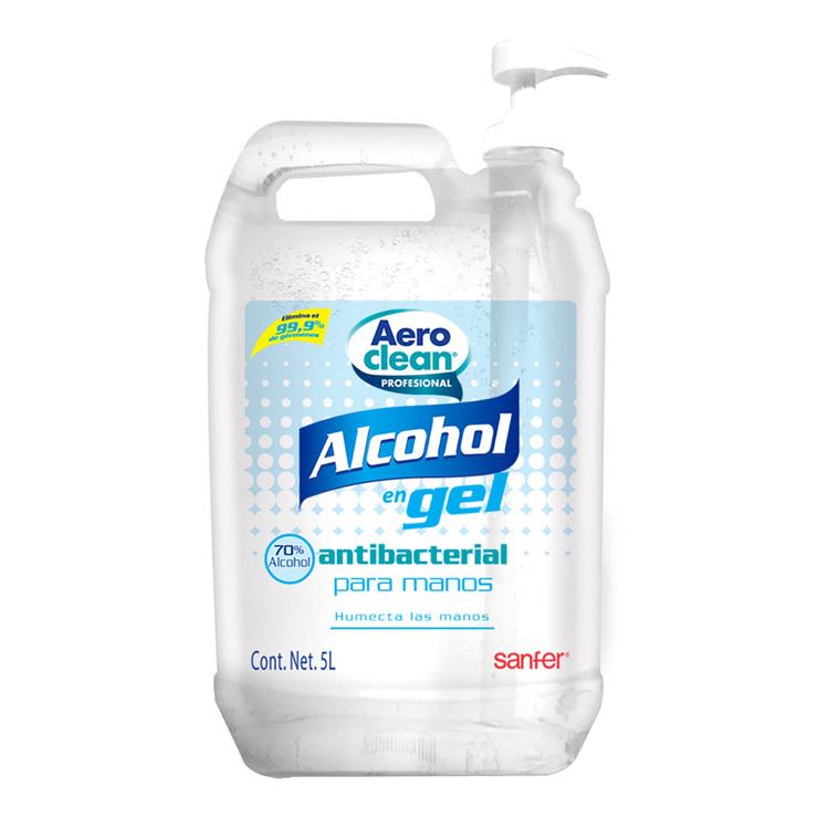 Gel Antibacterial para Manos, Aero Clean, 5 litros | Costco México