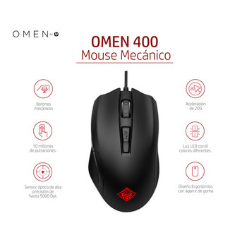 HP Omen gaming mouse 400