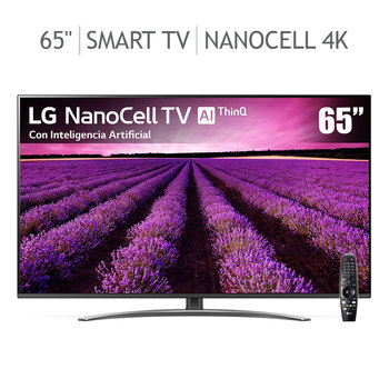 "LG Pantalla 65"" Smart TV 4K UHD (Nano Cell) Inteligencia Artificial TM120"