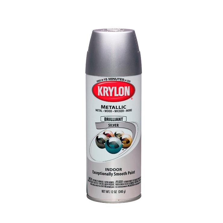 Krylon, aerosoles color plata 6 piezas | Costco Mexico