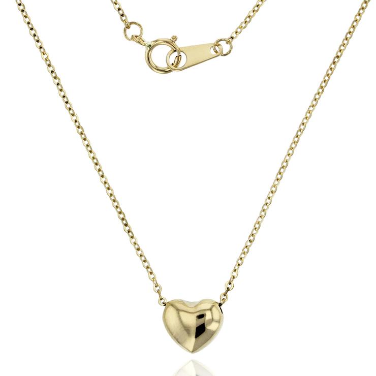 venta en línea talla 7 precio de fábrica Collar de oro 14 kt con dije ajustable en forma de corazón | Costco México
