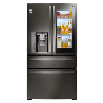 Refrigerador LG de 31' French Door, color negro