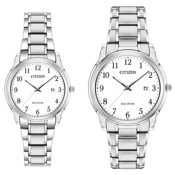 Citizen, Reloj Box Set Eco Drive para Caballero y Dama
