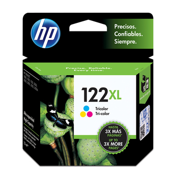 HP 122XL cartucho de tinta tricolor