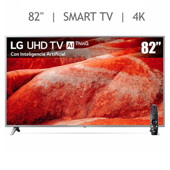 "LG Pantalla 82"" UHD 4K SMART TV"