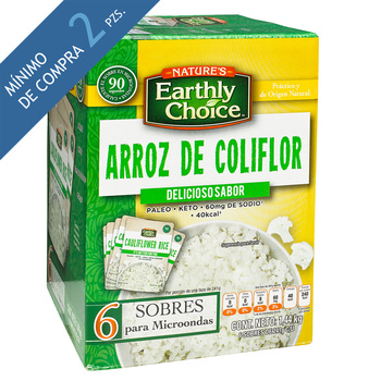 Arroz De Coliflor Earthly Choice 6 sobres de 241 g