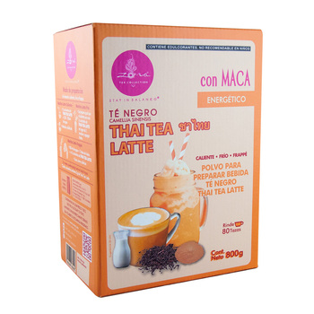 Thai Tea Latte Sin Azúcar, Zoma Tea Collection 800 g