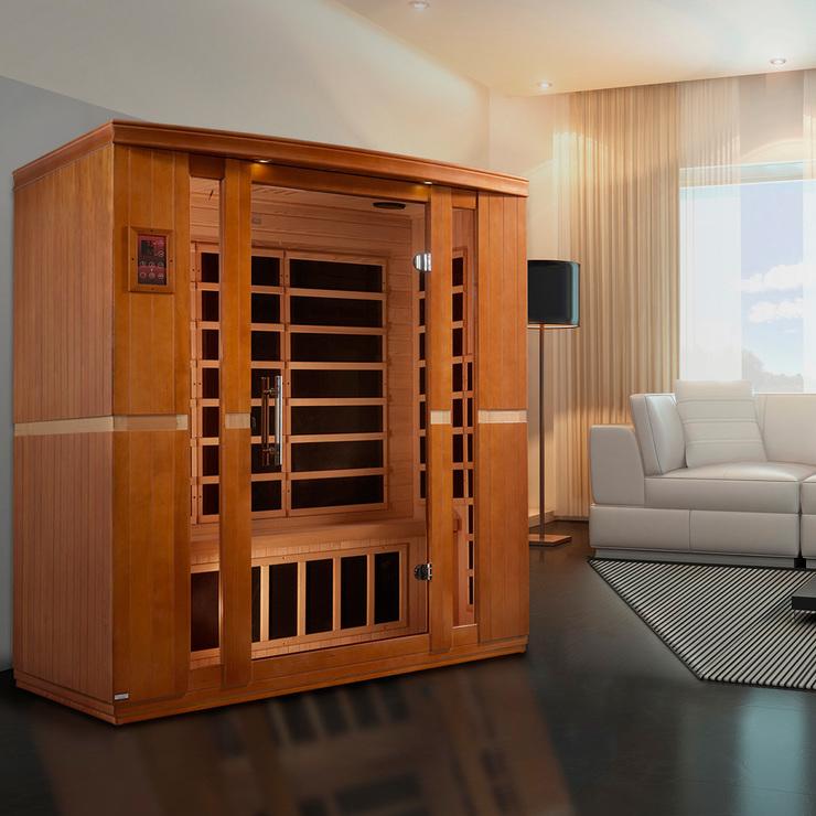 Dynamic Bellagio sauna infrarojo para 3 personas   Costco Mexico