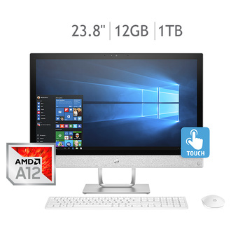 HP Pavilion All in One 23.8'' 12GB 1TB AMD A12