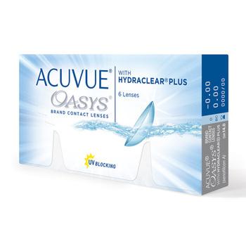 65f3d6bfc4ed9 ACUVUE® OASYS® lente de contacto con HYDRACLEAR® Plus para Miopía o  Hipermetropía uso