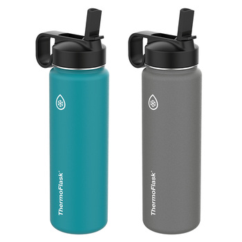 Thermoflask, set de botellas térmicas, 2 piezas