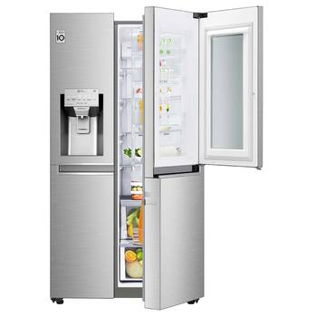 Refrigerador LG de 26' Instaview Door in Door, acero inoxidable