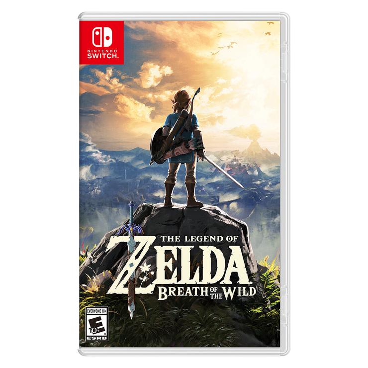 Nintendo Switch Juego Zelda Breath Of The Wild Costco Mexico