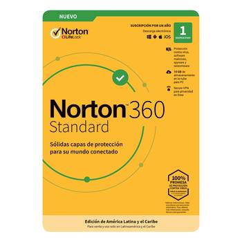 Norton Antivirus 360 Standard para 1 Dispositivo