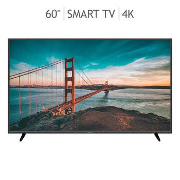 "Sharp Pantalla 60""  Android TV  4K  UHD  LED Smart TV"