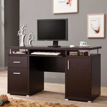 Muebles Para Computadora De Madera.Muebles De Oficina