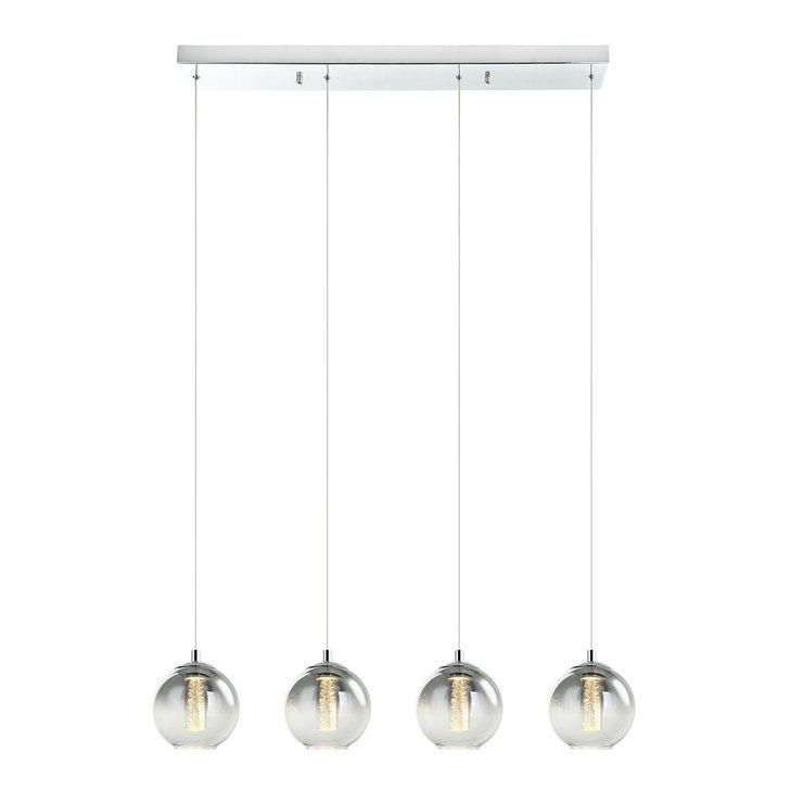 DSI, Lámpara LED De Cristal 4 Esferas Colgantes | Costco Mexico