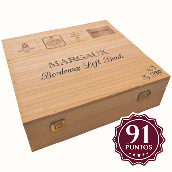 Vino tinto Margaux Collection 4 botellas de 750ml