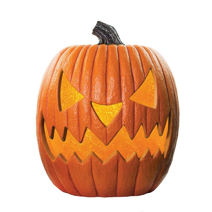 Calabaza De Halloween Con Luces Led Amarillas Parpadeantes Costco - Calabaza-hallowen