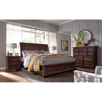Universal Broadmoore, Crosby, cama queen size, madera