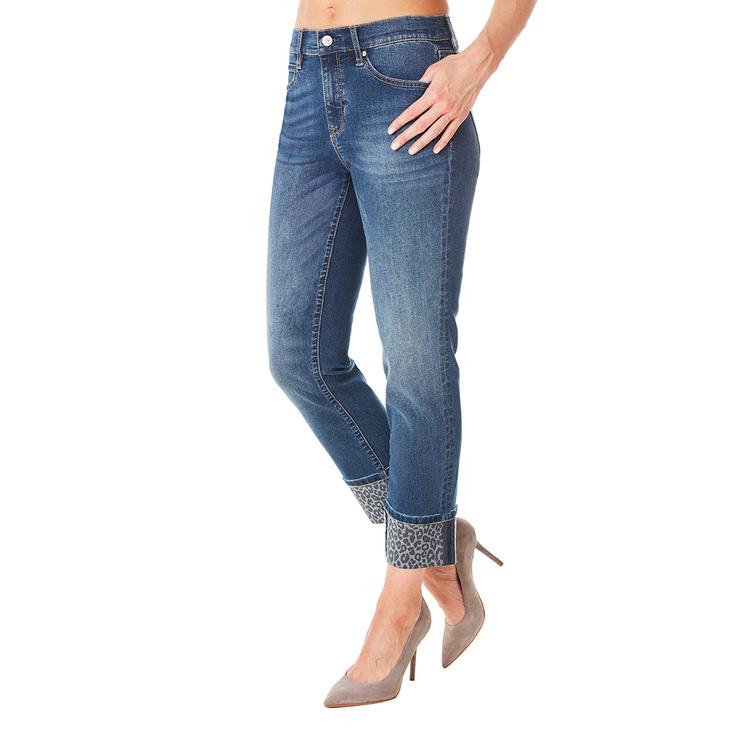 Nicole Miller Pantalon De Mezclilla Al Tobillo Para Dama Costco Mexico