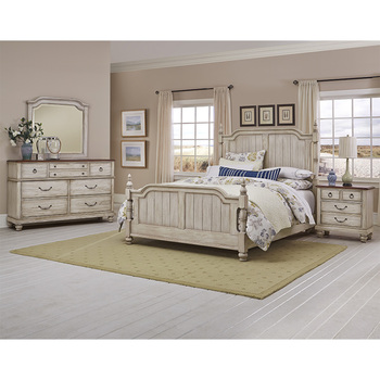 Virginia House, Magnolia, cama king size