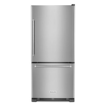 KitchenAid refrigerador 19' Bottom Mount