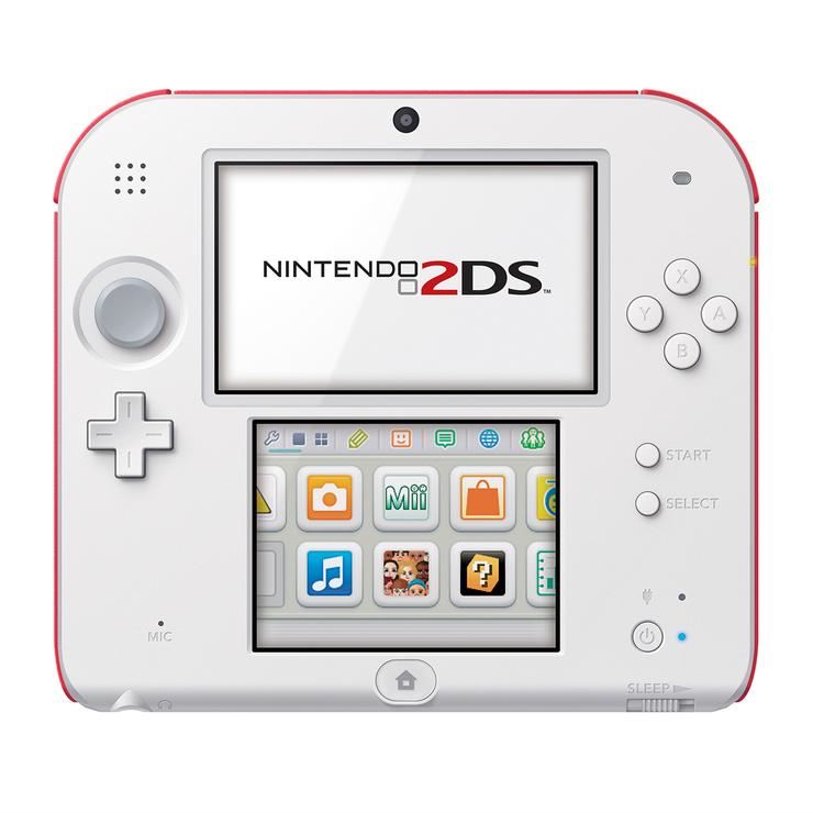 Consola Nintendo 2ds Scarlet Red Incluye El Nuevo Juego De Super