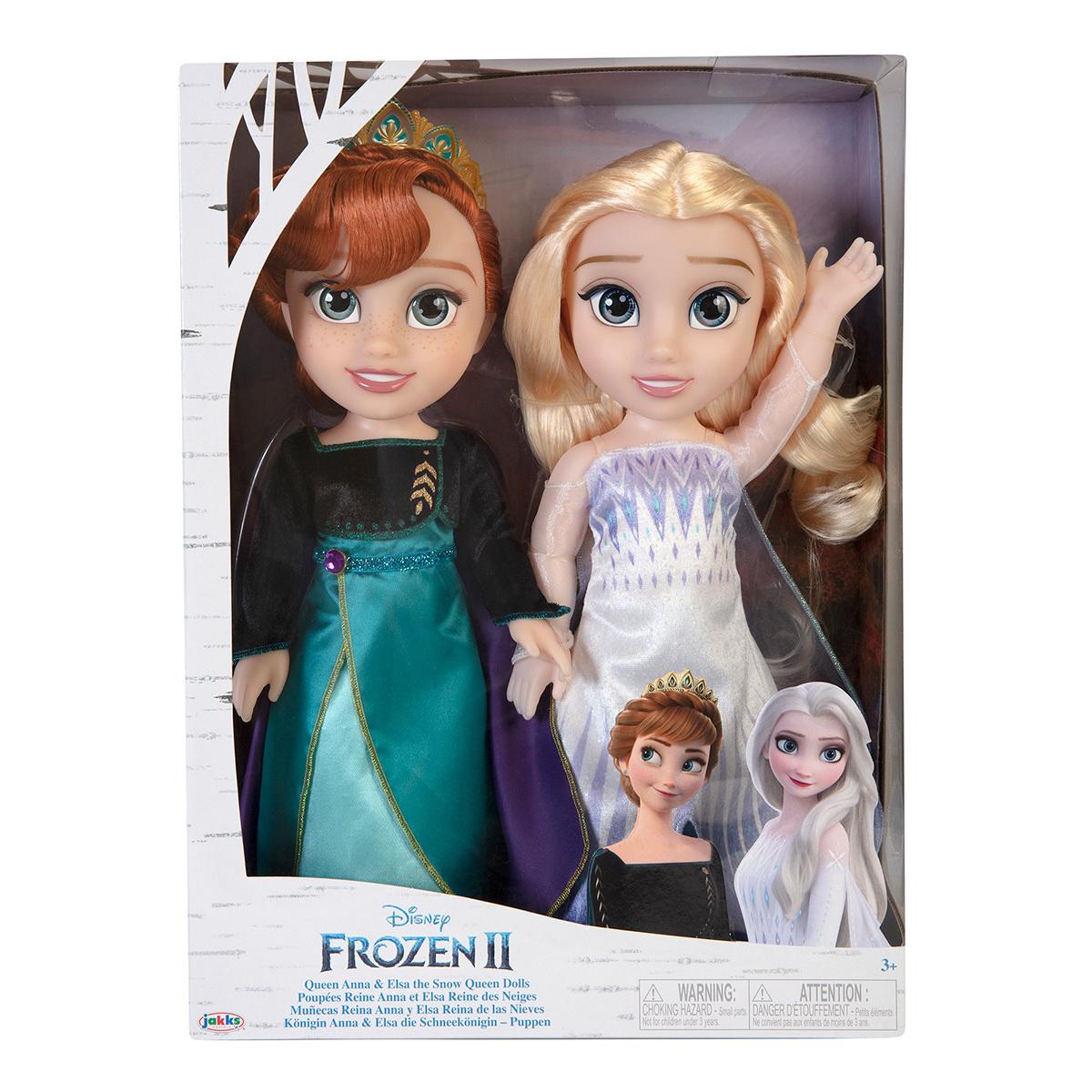 Frozen Ii Muñecas Anna Y Elsa 2 Piezas Costco México