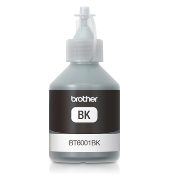 Brother botella de tinta 6001BK negro (3 piezas)