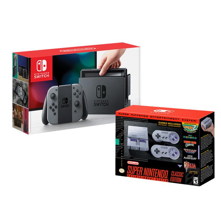 Nintendo switch + SNES classic edition | Costco Mexico