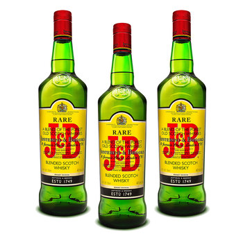 J&B whisky 3/750ml