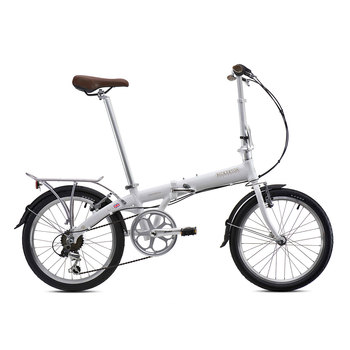 Bicicleta Plegable Junction 1307 Color Blanca, Bickerton