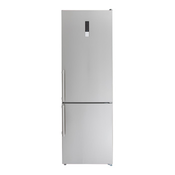 Refrigerador Teka de 12' Bottom Mount cool flow, color acero inoxidable