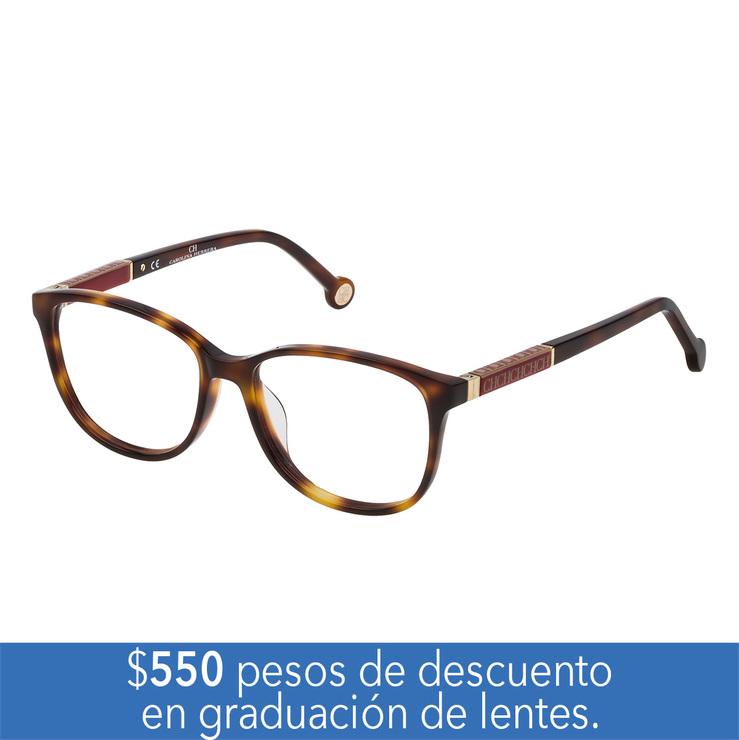 60931bd518 Carolina Herrera VHE.0734L.752Y.50 armazón oftálmico   Costco Mexico