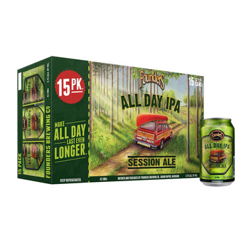 Cerveza Founders All Day IPA 15 Latas de 355 ml