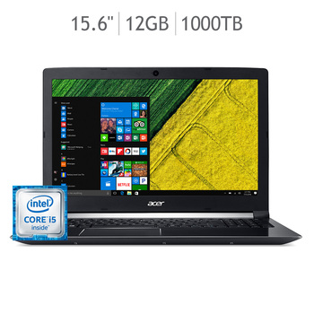 "Acer Aspire laptop 15.6"" Intel® Core™ i5-7300HQ,"