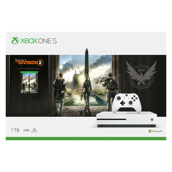Xbox One S 1TB consola + Tom Clancy´s The Division 2