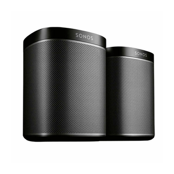 Sonos Play One, 2 Bocinas Color Negro