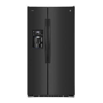 Refrigerador GE Profile de 26' Dúplex Multiflow Air System, color negro
