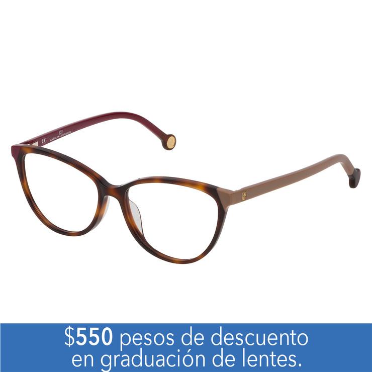 084f2fae00 Carolina Herrera VHE.00772.0752.53 armazón oftálmico   Costco Mexico