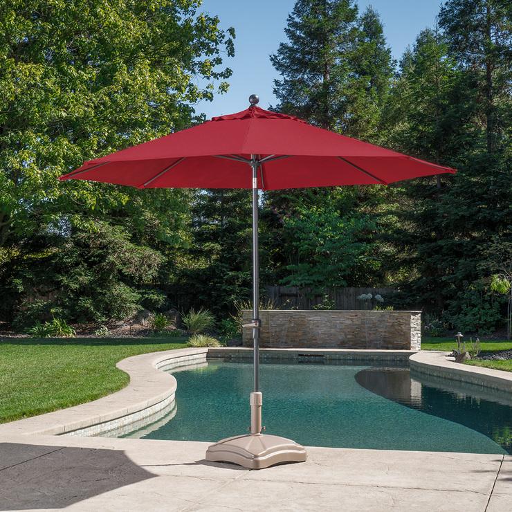 ProShade, sombrilla de aluminio para patio 3m tela Sunbrella ...