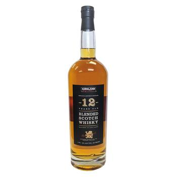Whisky Kirkland Signature, 12 Años Blended Scotch 1.75 L