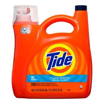 Detergente Líquido 4.08 L, Tide Clean Breeze