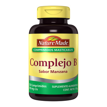Nature made complejo B masticable 250 tabletas